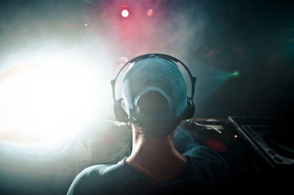 dj, music, headphones